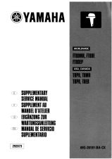 Yamaha 69G-28197-BA-CX Service Manual (Supplement To 68T-28197-ZA-C1)